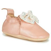 Schuhe Mädchen Hausschuhe Easy Peasy BLUMOO NOEUD MOU ROSE-LIBERTY MOU/CUIR