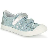Scarpe Bambina Sneakers basse GBB NOELLA CTV CIEL ETOILE-ARGENT DPF/MILENA