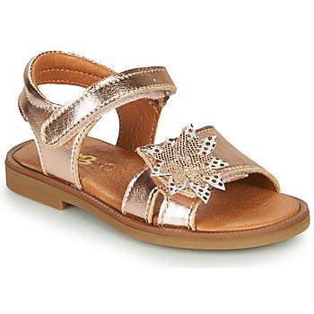 Chaussures Fille Sandales et Nu-pieds GBB UPPLA VTE OR ROSE DPF/2794