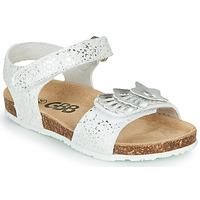 Chaussures Fille Sandales et Nu-pieds GBB FAZZI TTS BLANC-ARGENT DTX/SOUPLE