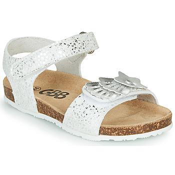 Schuhe Mädchen Sandalen / Sandaletten GBB FAZZI Silbrig