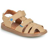 Chaussures Garçon Sandales et Nu-pieds GBB MARINO VTE BEIGE DPF/NITRO