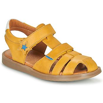 Chaussures Garçon Sandales et Nu-pieds GBB MARINO VTE MOUTARDE DPF/NITRIO