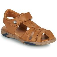 Schuhe Jungen Sandalen / Sandaletten GBB LUCA Braun,