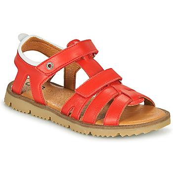 Schuhe Jungen Sandalen / Sandaletten GBB JULIO VTE ROUGE DPF/LISBONNA