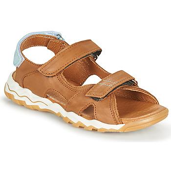 Chaussures Garçon Sandales et Nu-pieds GBB DIMOU VTE CAMEL DPF/COCCO