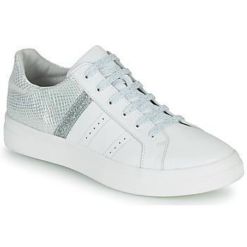 Chaussures Fille Baskets basses GBB DANINA VTS BLANC-ARGENT DPF/BITTER