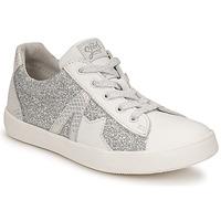 Schuhe Mädchen Sneaker Low GBB DANNI Weiß / Silbrig