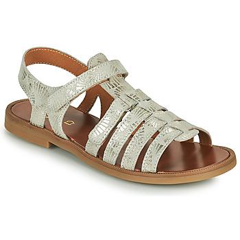 Schuhe Mädchen Sandalen / Sandaletten GBB KATAGAMI Beige / Golden