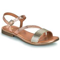 Schuhe Mädchen Sandalen / Sandaletten GBB FANA Gold / Golden