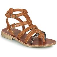 Schuhe Mädchen Sandalen / Sandaletten GBB NOVARA Braun,