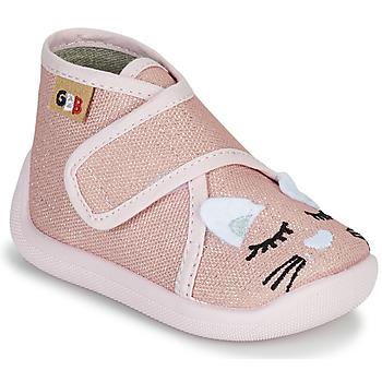 Scarpe Bambina Pantofole GBB APODIE TTX ROSE-CHAT DTX/CHAUSSON