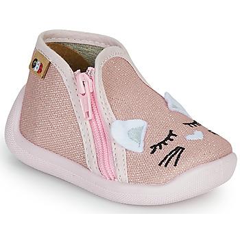 Scarpe Bambina Pantofole GBB APOLA TTX ROSE-CHAT DTX/CHAUSSON