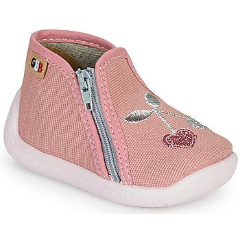 Scarpe Bambina Pantofole GBB APOLA TTX ROSE-CERISE DTX/CHAUSSON