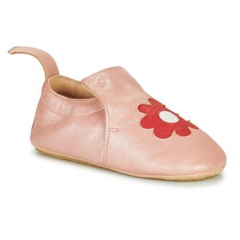 Schuhe Kinder Hausschuhe Easy Peasy BLUBLU FLEURS MOU ROSE BABA-FUSHIA MOU/PATIN