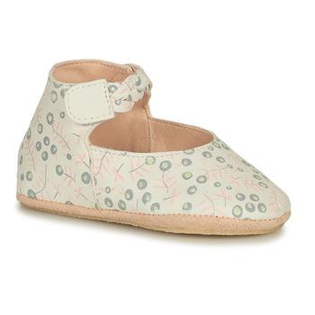 Schuhe Kinder Hausschuhe Easy Peasy BLUBLU DANCE Weiß
