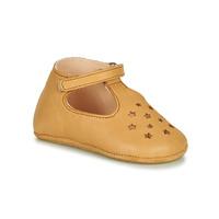 Schuhe Kinder Hausschuhe Easy Peasy LILLOP Kognac