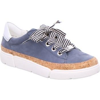 Chaussures Femme Baskets basses Ara Appartements Rome Highsoft Bleu