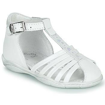 Schuhe Mädchen Sandalen / Sandaletten Little Mary VOLGA Weiß