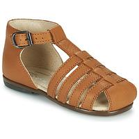 Schuhe Mädchen Sandalen / Sandaletten Little Mary JULES Braun,