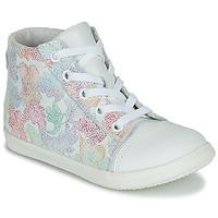 Schuhe Mädchen Sneaker High Little Mary VITAMINE Weiß