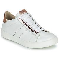 Schuhe Mädchen Sneaker Low Little Mary LAURENE Weiß