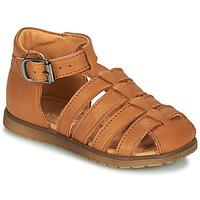 Schuhe Jungen Sandalen / Sandaletten Little Mary LIXY Braun,
