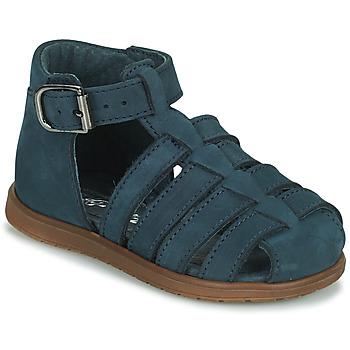 Chaussures Garçon Sandales et Nu-pieds Little Mary LIXY NUB NOCTURNE DPF/MATTIA