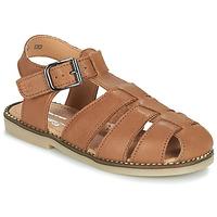Chaussures Garçon Sandales et Nu-pieds Little Mary BREHAT VTE TABAC DPF/ROMAIN