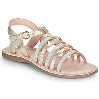 Schuhe Mädchen Sandalen / Sandaletten Little Mary BARBADE Golden
