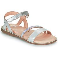 Schuhe Mädchen Sandalen / Sandaletten Little Mary DOLERON Silbrig