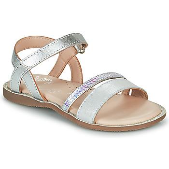 Chaussures Fille Sandales et Nu-pieds Little Mary DOLERON VTE METAL ARGENT DPF/NEGOCE