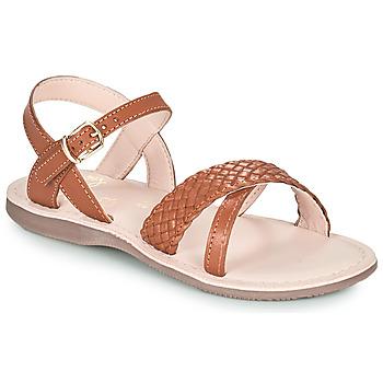 Chaussures Fille Sandales et Nu-pieds Little Mary LIANE 14-MARRON
