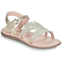 Chaussures Fille Sandales et Nu-pieds Little Mary LORETTE VTE DORE DPF/NEGOCE