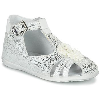 Schuhe Mädchen Sandalen / Sandaletten Little Mary GLADYS Silbrig