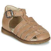 Schuhe Kinder Sandalen / Sandaletten Little Mary LIXY SAUVAGE SABLE
