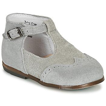 Chaussures Garçon Sandales et Nu-pieds Little Mary FRANCOIS VELOURS ACIER