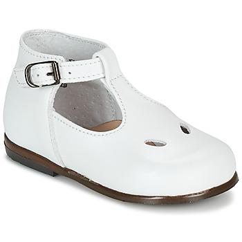 Chaussures Garçon Sandales et Nu-pieds Little Mary MAX VACHETTE BLANCHE