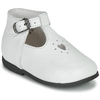 Schuhe Mädchen Sandalen / Sandaletten Little Mary NANNY SP Weiß
