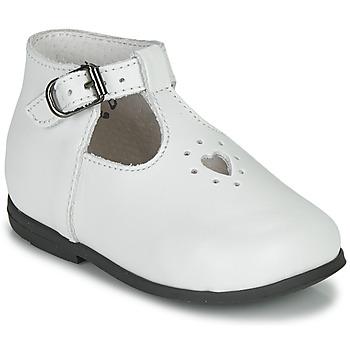 Chaussures Fille Sandales et Nu-pieds Little Mary NANNY SP VACHETTE BLANCHE