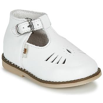 Schuhe Kinder Sandalen / Sandaletten Little Mary SURPRISE VACHETTE BLANCHE
