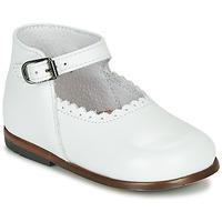 Schuhe Mädchen Sandalen / Sandaletten Little Mary VOCALISE VACHETTE BLANCHE