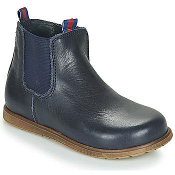 Schuhe Jungen Boots Little Mary JAUFFREY Marineblau