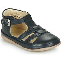 Schuhe Kinder Sandalen / Sandaletten Little Mary LAIBA *VACHETTE MARINE