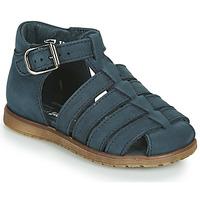 Chaussures Enfant Sandales et Nu-pieds Little Mary LIXY *NUBUCK NOCTURNE