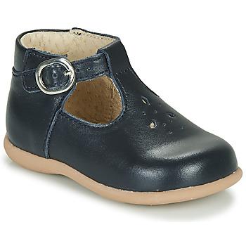 Chaussures Enfant Sandales et Nu-pieds Little Mary LOUP VACHETTE MARINE