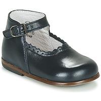 Chaussures Fille Sandales et Nu-pieds Little Mary VOCALISE VACHETTE MARINE
