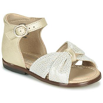 Schuhe Mädchen Sandalen / Sandaletten Little Mary DIANA Golden