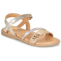 Schuhe Mädchen Sandalen / Sandaletten Little Mary DOLERON *METAL DORE