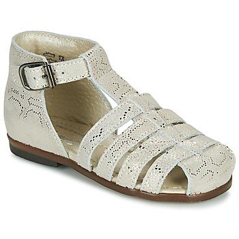 Schuhe Mädchen Sandalen / Sandaletten Little Mary JULES MINI PYTHON DORE